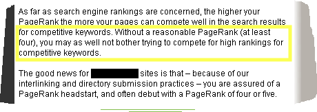 What is Page Rank and why is it important to me?